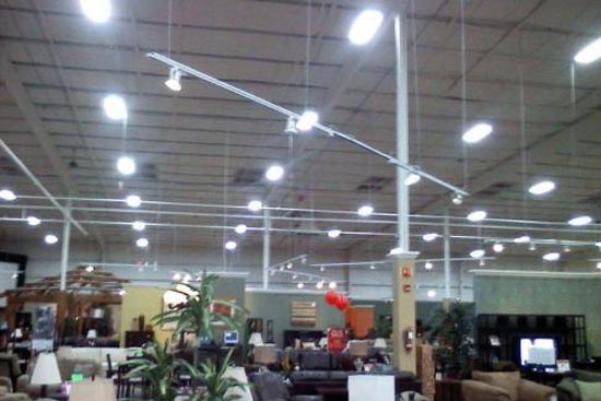 Ashley furniture improves their lighting